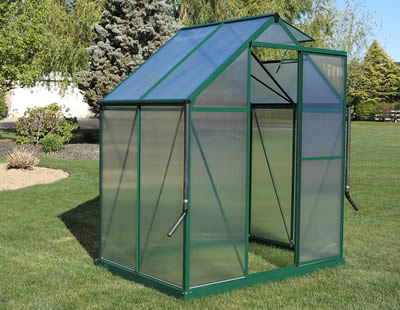 Brighton Greenhouses - Featuring An Aluminum Frame and 4mm