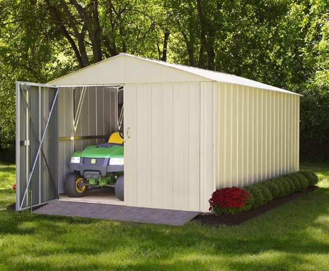 duramax metal shed model 00614