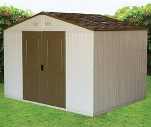 10214 10x8 Westchester Vinyl Shed - Free Shipping and No Sales Tax